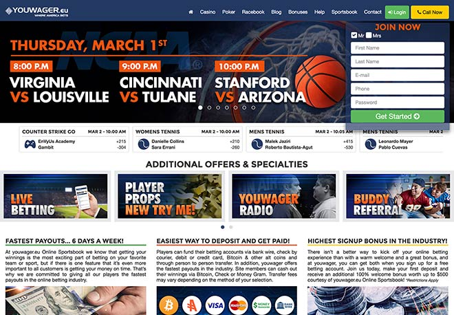 Online sports betting in america
